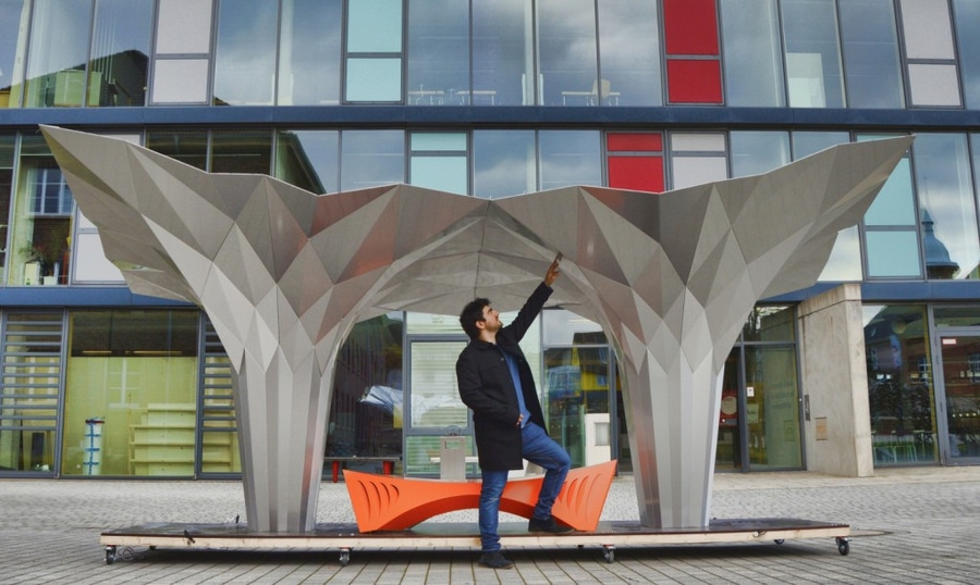 Can Foldstruct make Free Form Architecture mainstream?