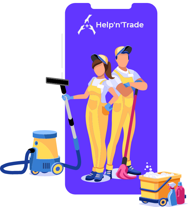 Marketplace for local services - Help'n'Trade - Handyworkers 2