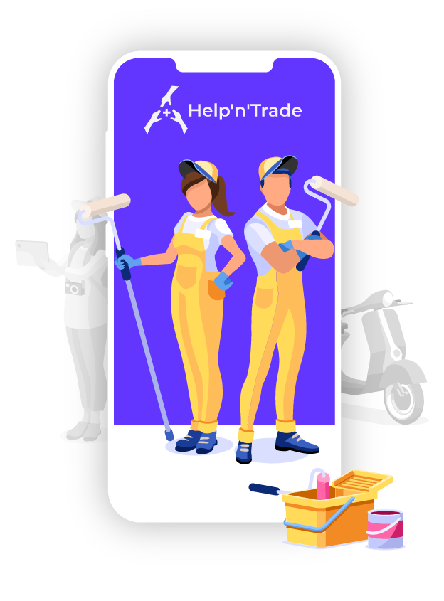 Marketplace for local services - Help'n'Trade - Handyworkers on Help'n'Trade