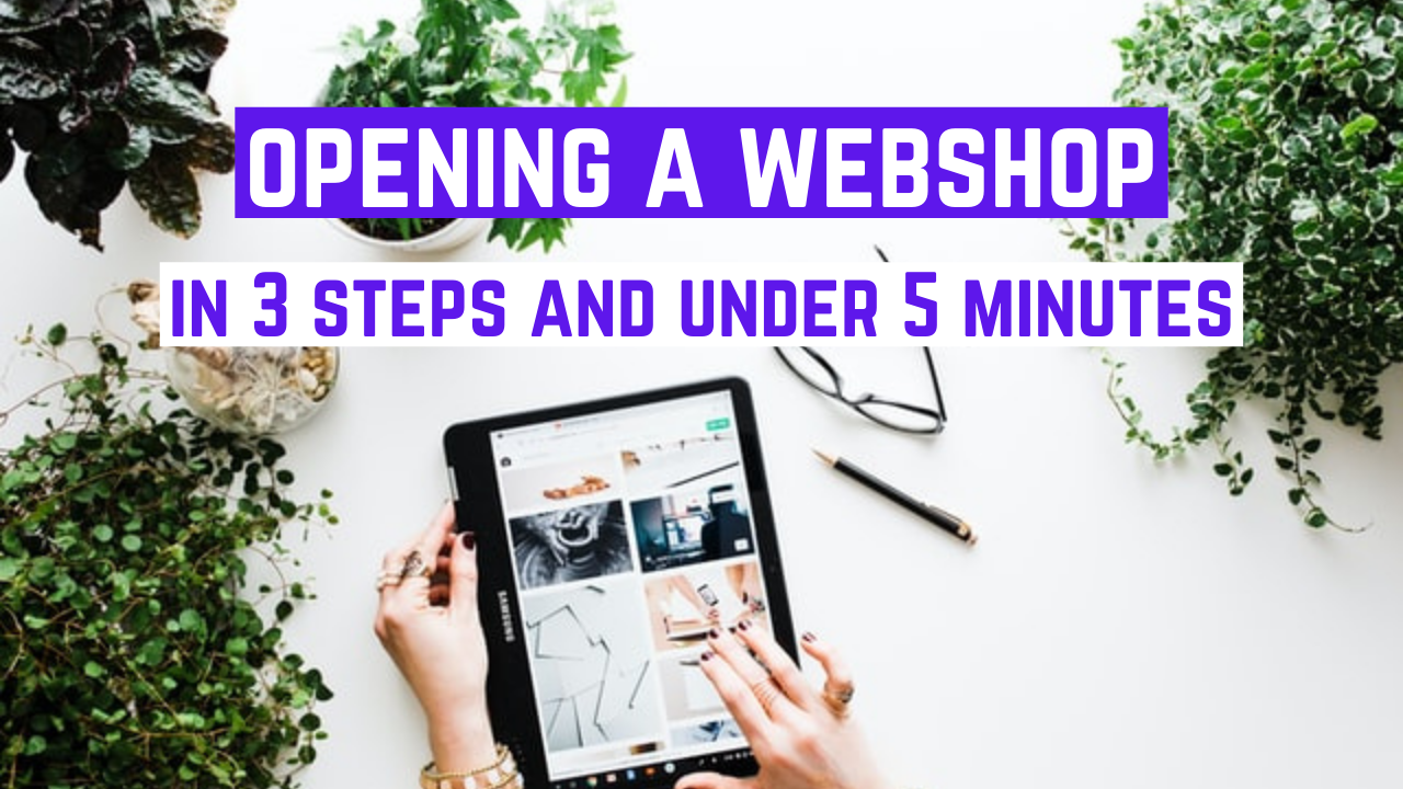 Opening a webshop under 5 minutes with Help'n'Trade